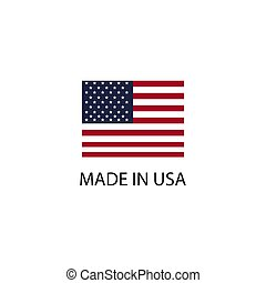 Made in USA sign