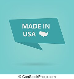 made in USA sticker