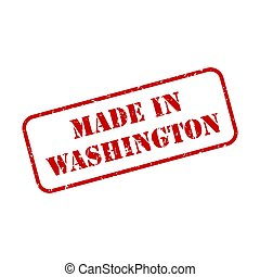Made in Washington Stamp Vector