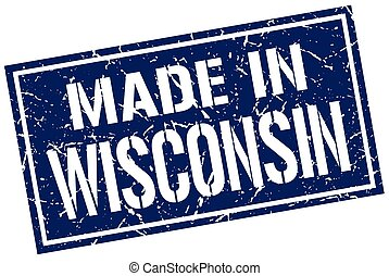 made in Wisconsin stamp