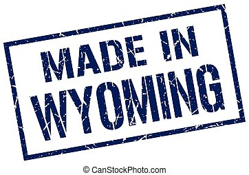 made in Wyoming stamp