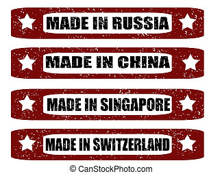 Made in...stamp