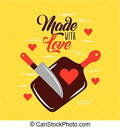 made with love cooking