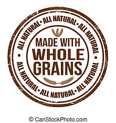 Made with whole grains stamp
