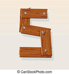 madeira, 5, número
