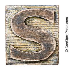 madeira, alfabeto