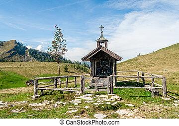 madeira, Alpes, capela