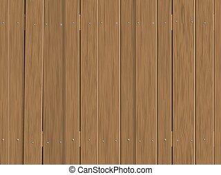 madeira, antigas, cerca, fundo