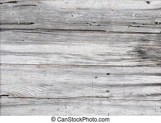 madeira, antigas, cinzento, fundo
