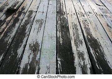 madeira, antigas, fundo