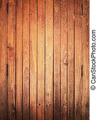 madeira, antigas, textura, vertical