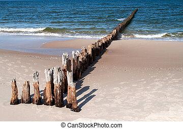 madeira, breakwater