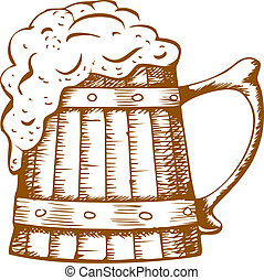 madeira, cerveja assalta