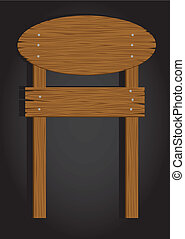 madeira, circular, signage
