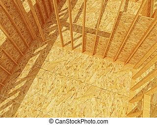 madeira, constructione, fundo, local