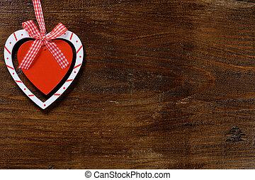 madeira, Coração, fundo