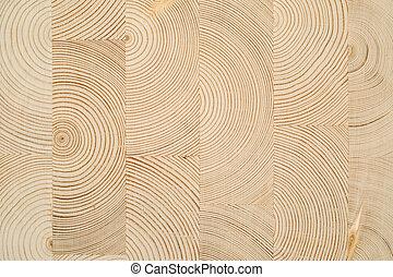 madeira, corte, madeira, laminado, folheado