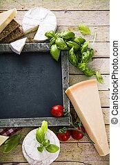 madeira, cozinhar, italiano