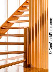 madeira, escadaria