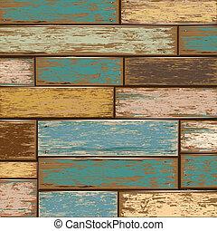 madeira, experiência., antigas, textura