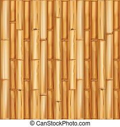 madeira, experiência., bambu, seamless, padrão