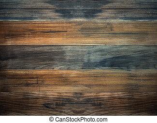 madeira, experiência marrom, prato