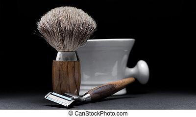 madeira, ferramenta, experiência preta, tabela, raspar