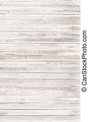 madeira, fundo, branca, pranchas, ou, textura
