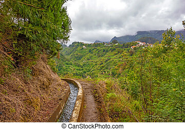 Madeira irrigation channel