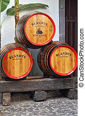 Storage of wine well-known firm - MADEIRA ISLAND, PORTUGAL -...