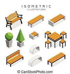 madeira, isometric, cobrança, banco