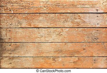madeira, marrom, prancha, resistido