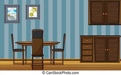 madeira, mobília
