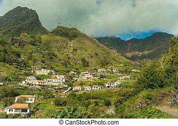 Madeira mountain village view (2)