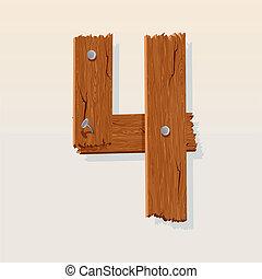 madeira, numere 4
