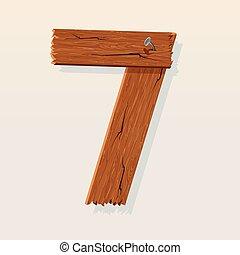 madeira, numere 7