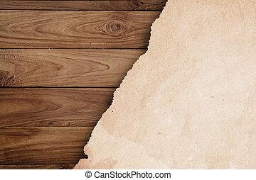 madeira, papel