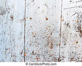 madeira, parede branca, fundo