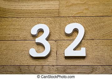 madeira, parquet, floor., figura, thirty-two