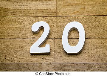 madeira, parquet, floor., figura, vinte