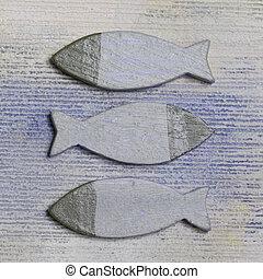 madeira, peixe