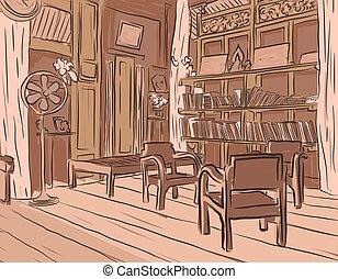 madeira, sala
