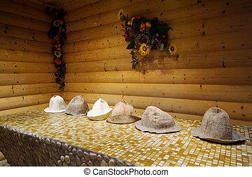 madeira, sauna