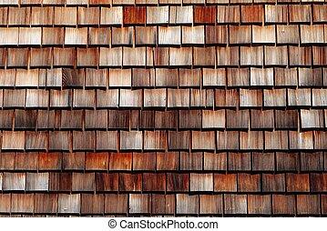 madeira, schwarzwald, alemanha, textura, telhado azulejo
