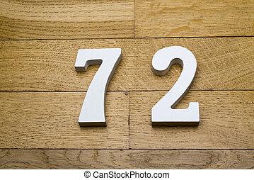 madeira, seventy-two, números, floor., parquet