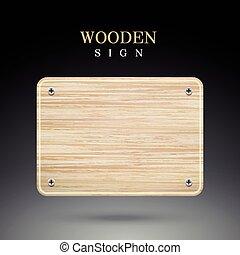 madeira, sinal branco