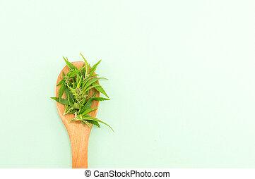 madeira, spoom, planta, marijuana