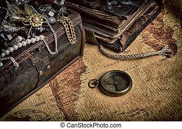 madeira, tesouro