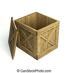 madera, cajón