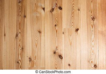 madera dura, plano de fondo, piso